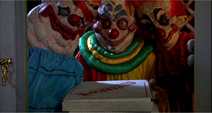 31 Días de Terror Halloweenero Killer-klowns-pizza
