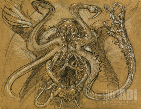 Who ordered the squid? (ADI concept art by Paul Komoda)